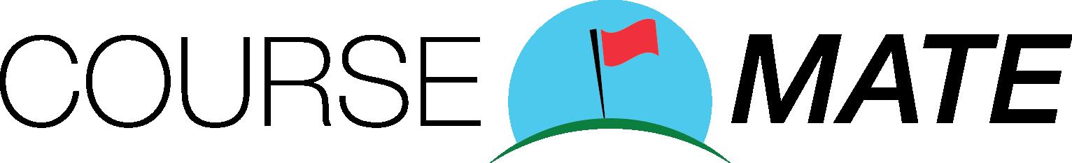coursemate smart golf club app logo