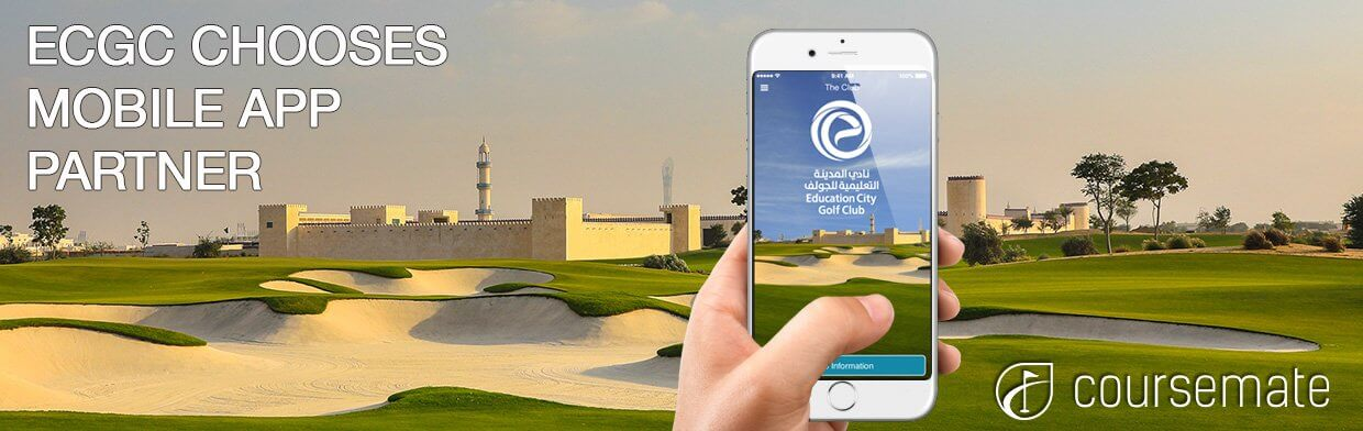 Qatar Golf Club Choses CourseMate Golf Club App