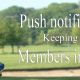 Golf Club App - Push Notifications - Keeping your members informed
