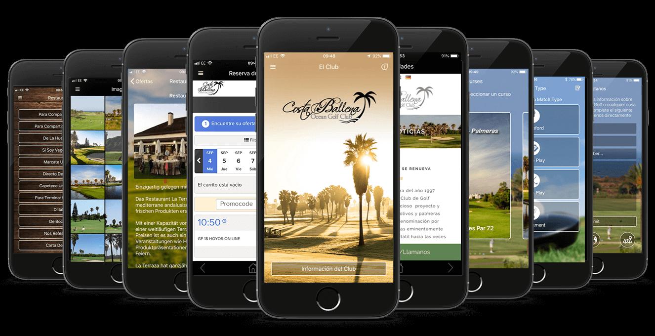 Costa Ballena Ocean Golf Club CourseMate App