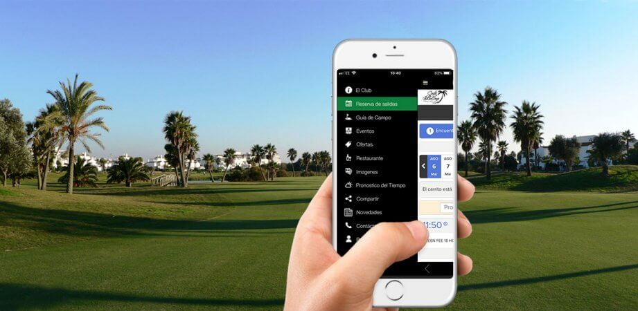 CourseMate Spanish Golf App