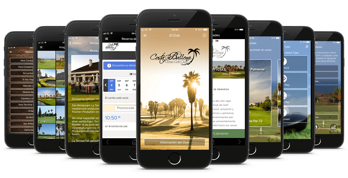 Costa Ballena Golf Club's CourseMate App