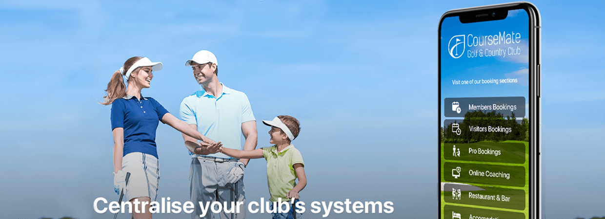 World leading Golf club app solves the problem of member bookings