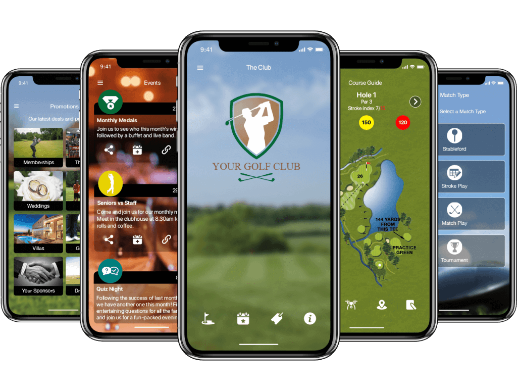 CourseMate Golf Club App